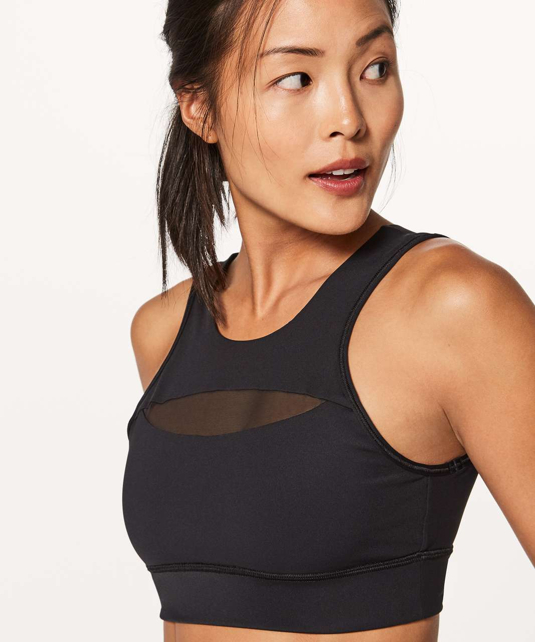 5e6e1a2a0a Lululemon Run The Day Bra - Black - lulu fanatics