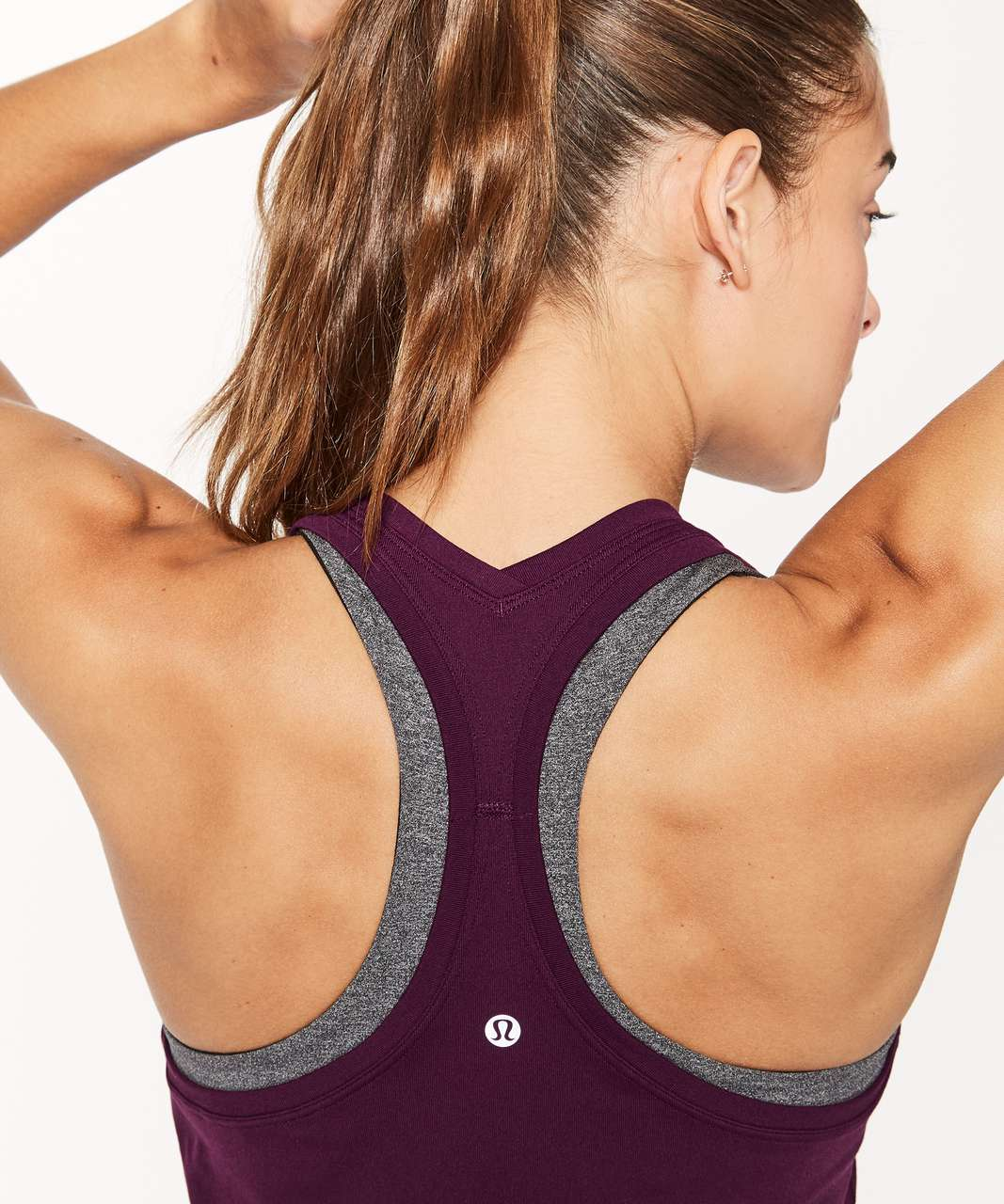 Lululemon Cool Racerback II - Dark Adobe