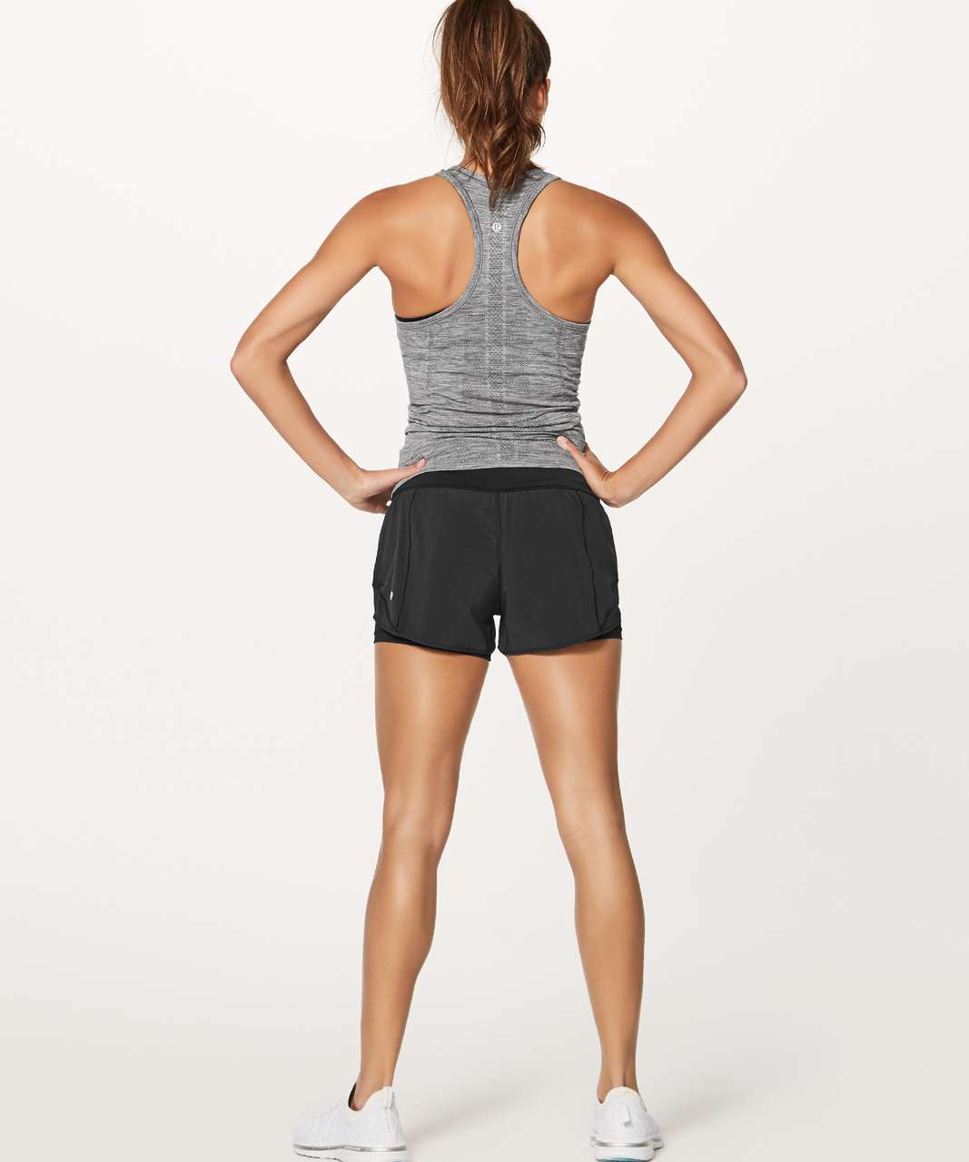 "Lululemon Hotty Hot Short (Naked 4"") - Black"