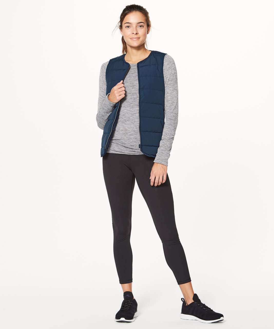 Lululemon Just Enough Puff Vest - Inkwell