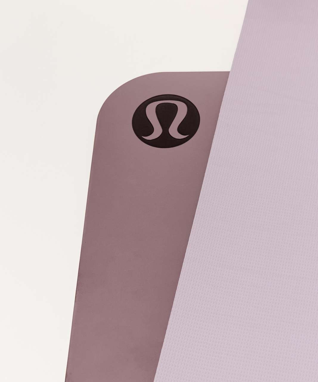 Lululemon The Reversible Mat 5mm (Taryn Toomey Collection) - Misty Mauve / Porcelain Pink