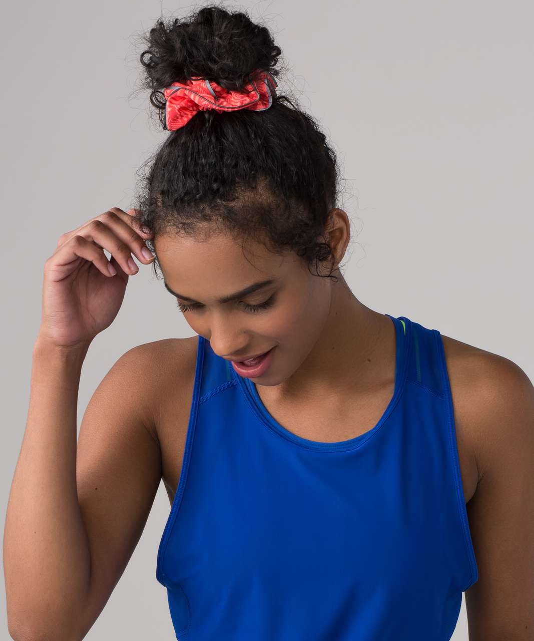 Lululemon Light Locks Scrunchie (SeaWheeze) - Chop Chop Grapefruit Dust Coral