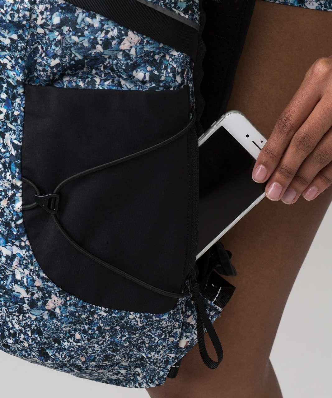 Lululemon Run All Day Backpack II (SeaWheeze) - Tofino Shells Multi Black