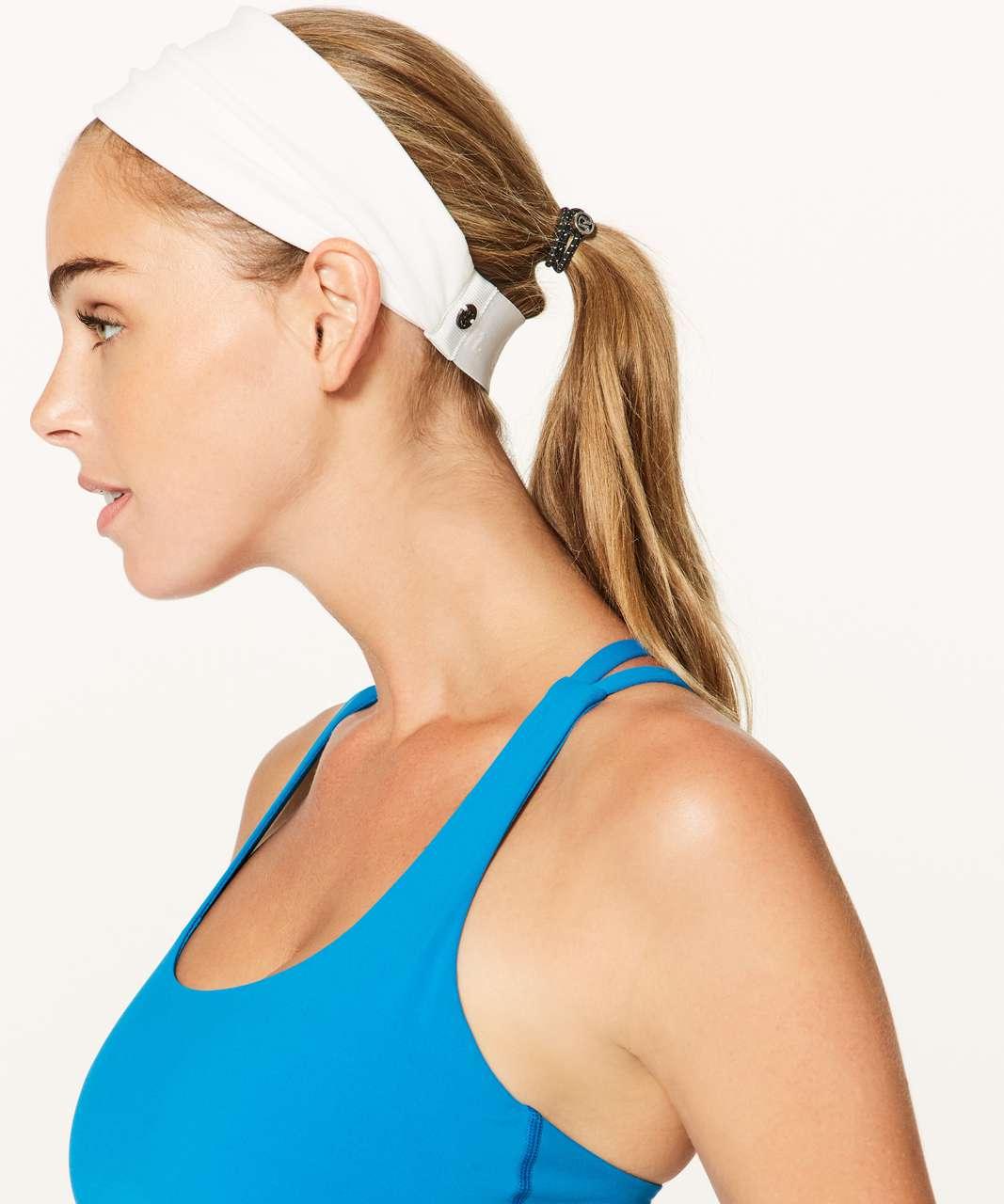 Lululemon Fringe Fighter Headband - White (Second Release)