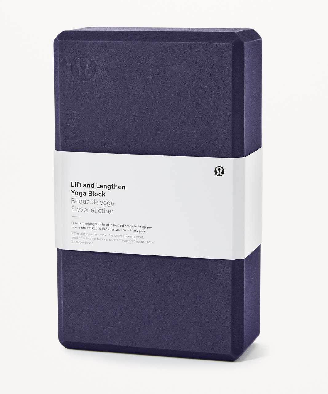Lululemon Lift & Lengthen Yoga Block - Aeon