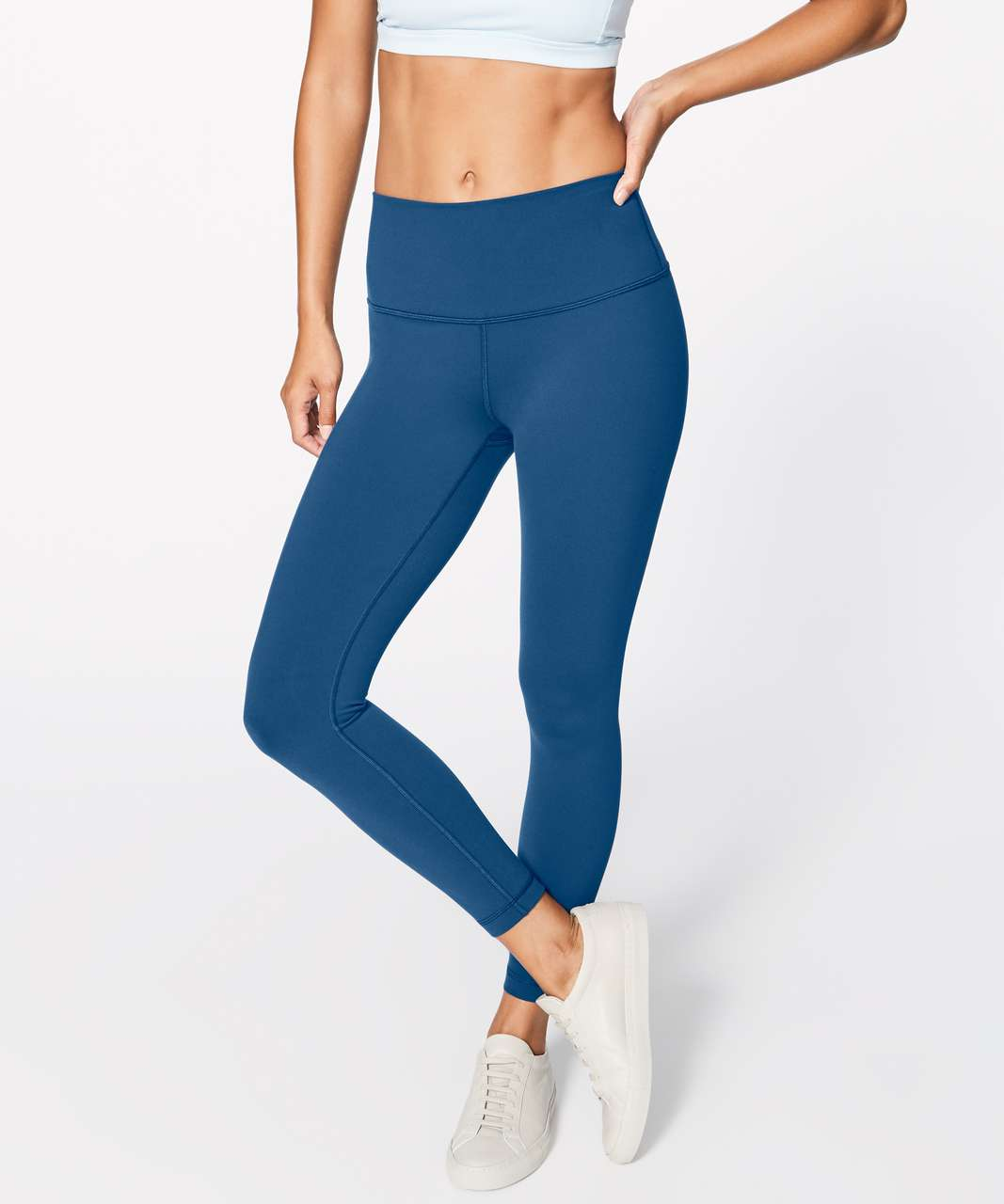 "Lululemon Wunder Under Hi-Rise 7/8 Tight (Full-On Luon 25"") - Night Tide"