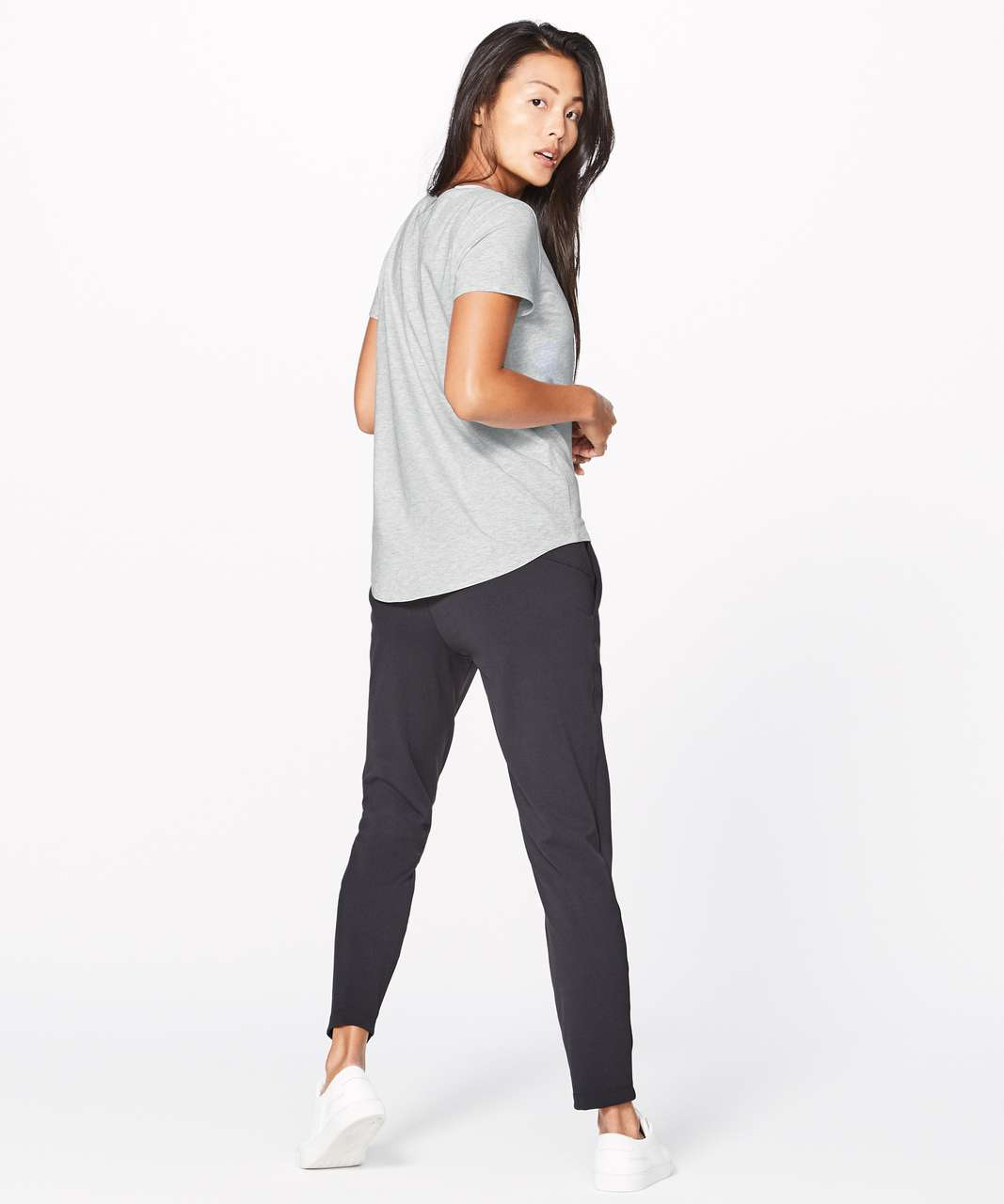 Lululemon Love Crew III - Heathered Vapor