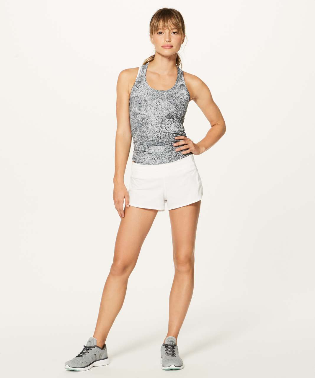 "Lululemon Speed Up Short *2.5"" - White (First Release)"