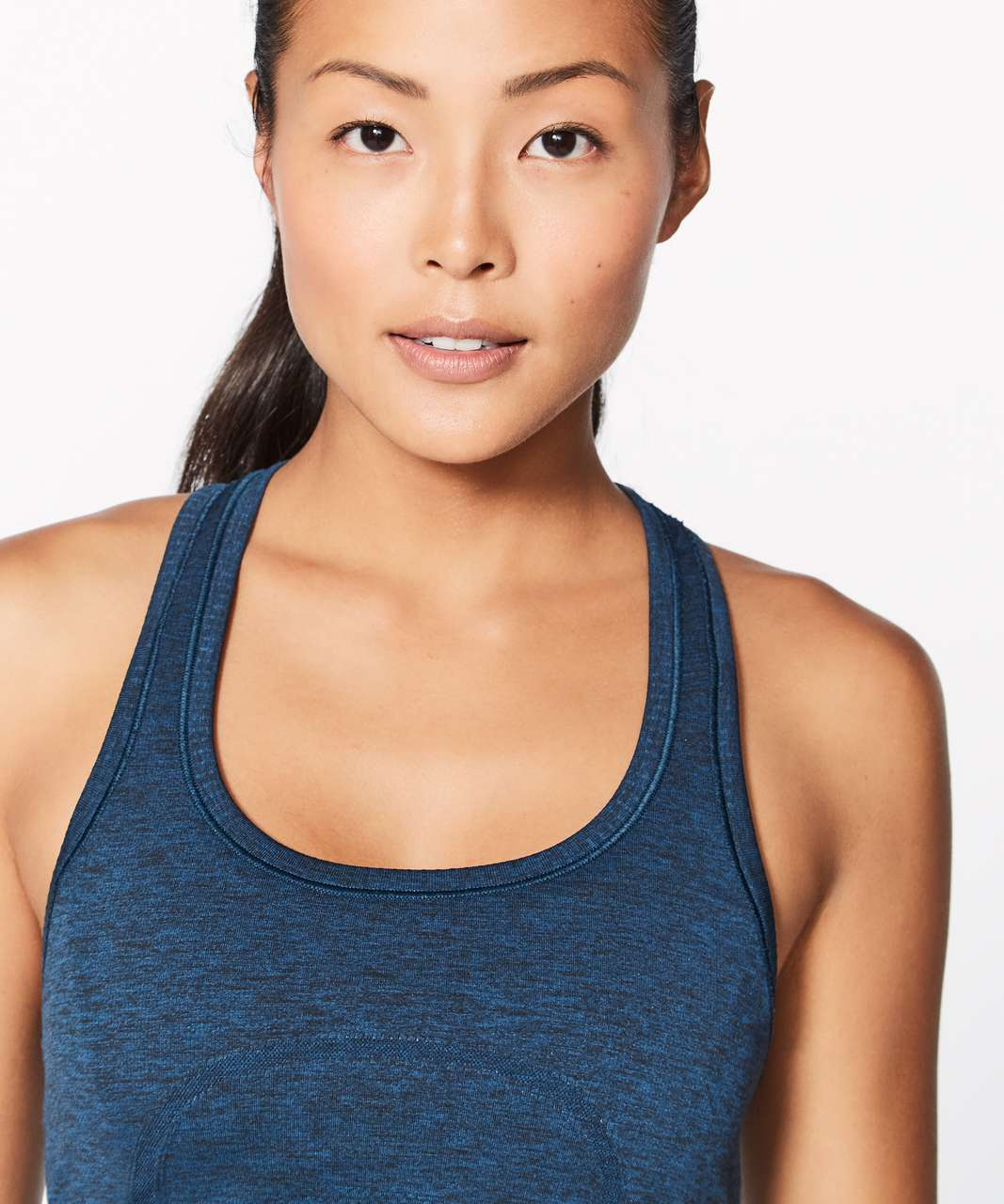 Lululemon Swiftly Tech Racerback - Night Tide / Black