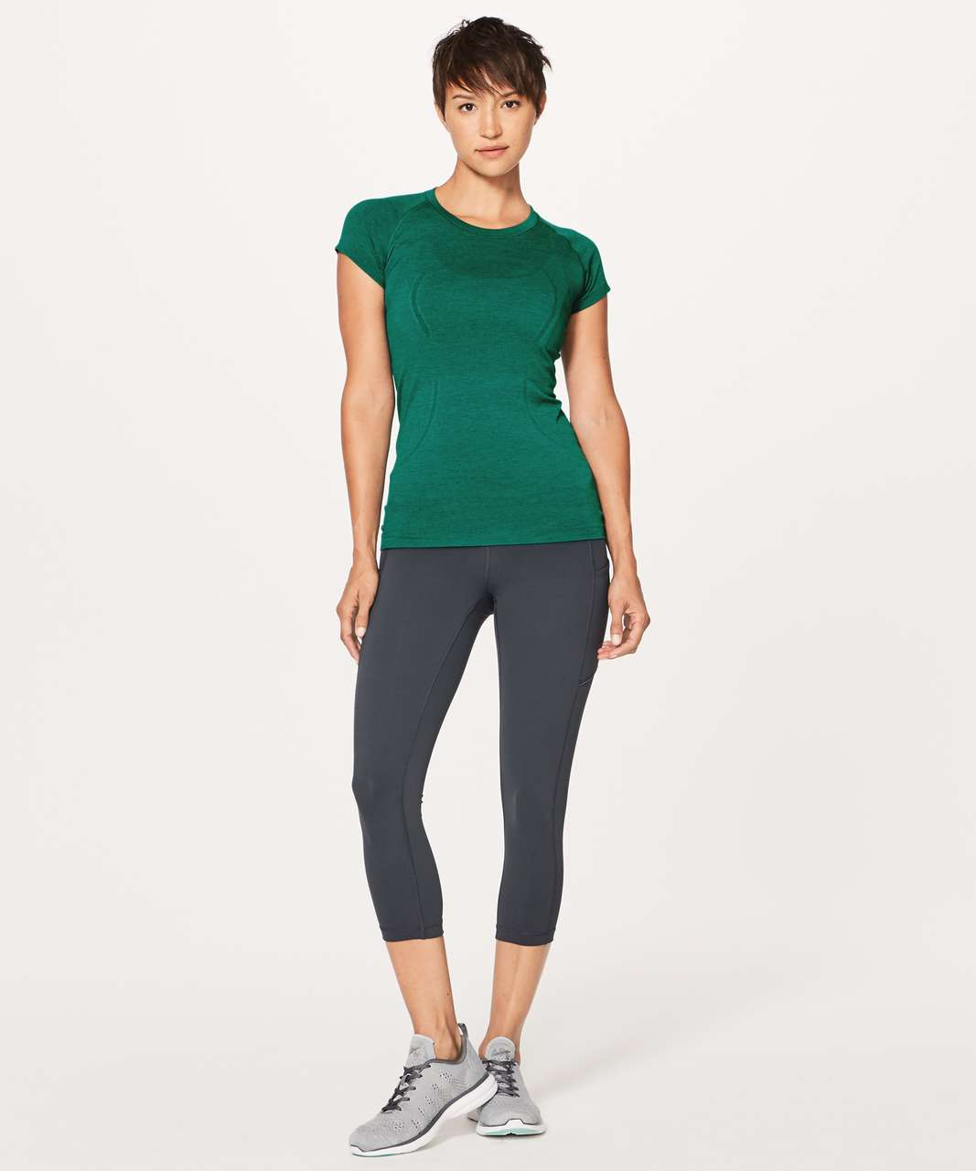 Lululemon Swiftly Tech Short Sleeve Crew - Teal Green / Teal Green