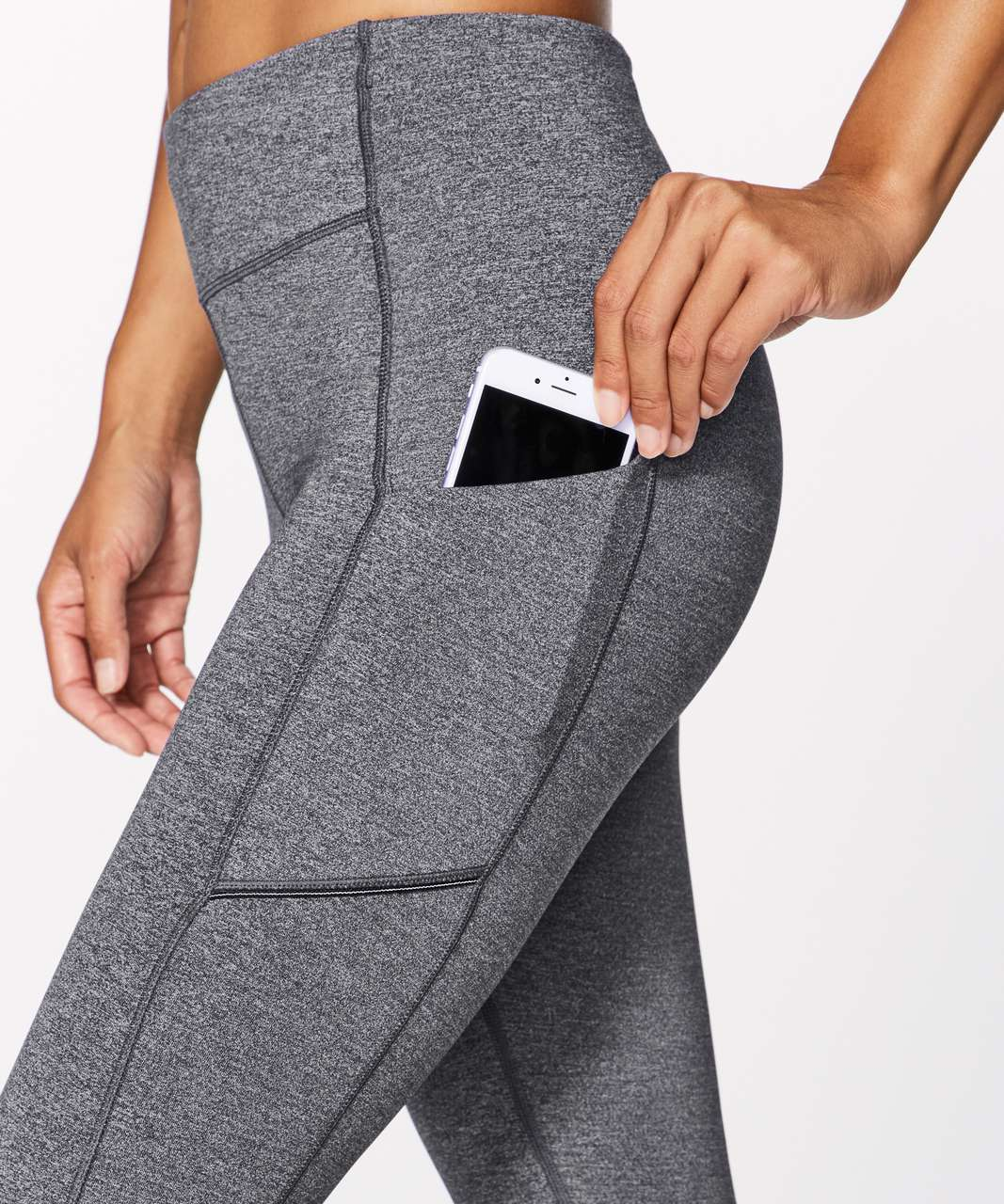 """Lululemon Speed Up Tight *28"""" - Heathered Black (First Release)"""