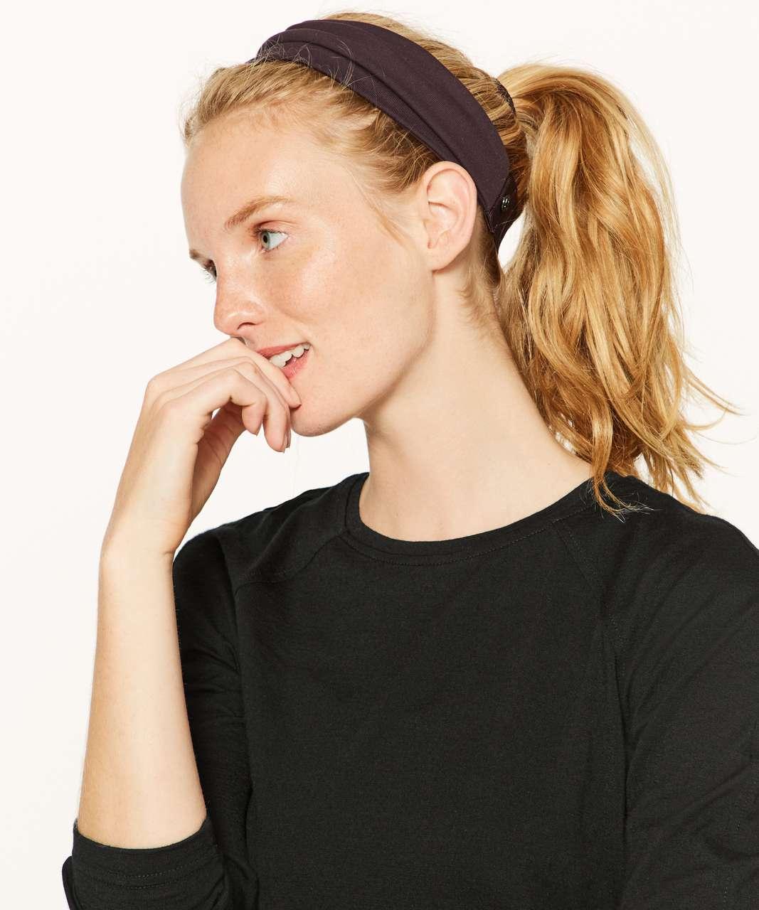 Lululemon Fringe Fighter Headband - Pelt / Pelt