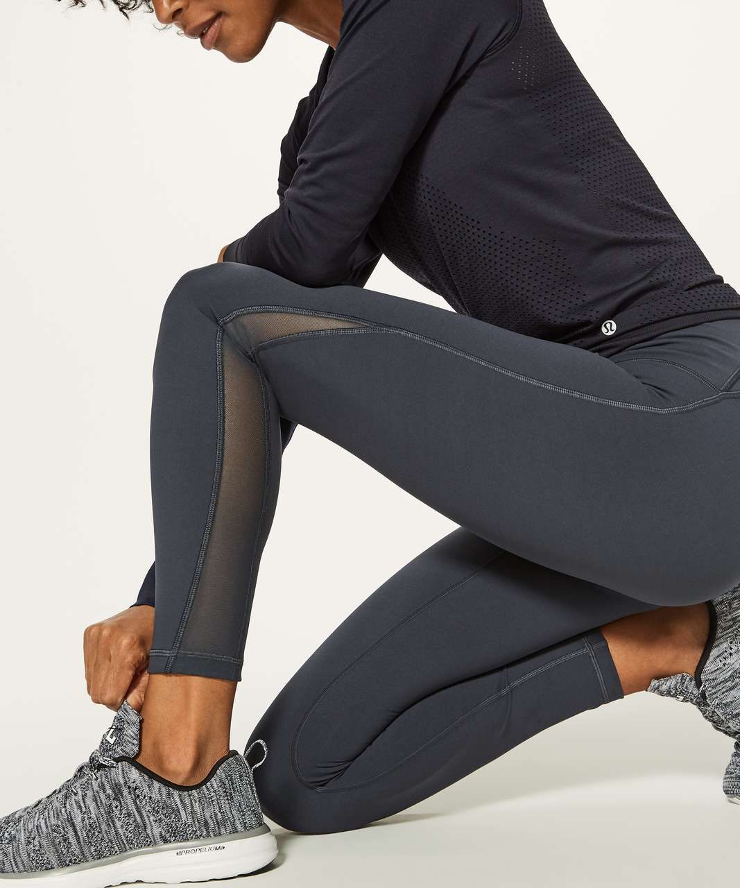 "Lululemon Train Times 7/8 Pant (25"" ) - Melanite"