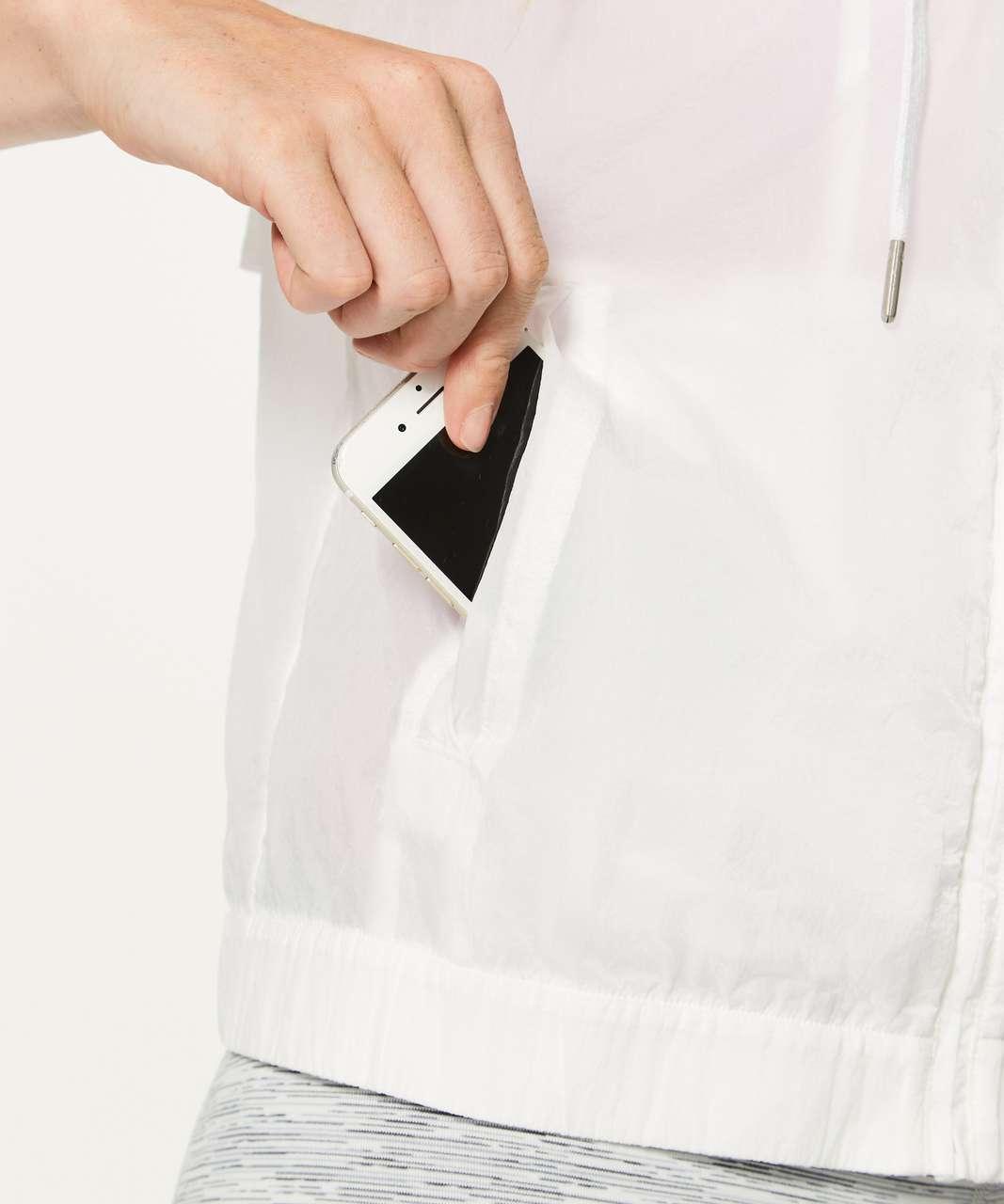 Lululemon Refined Jacket - White