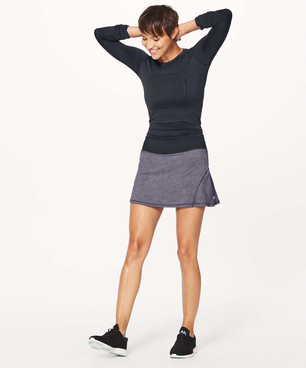 "Lululemon Circuit Breaker Skirt II (Tall) (15"") - Disperse Dusky Lavender Black / Black"