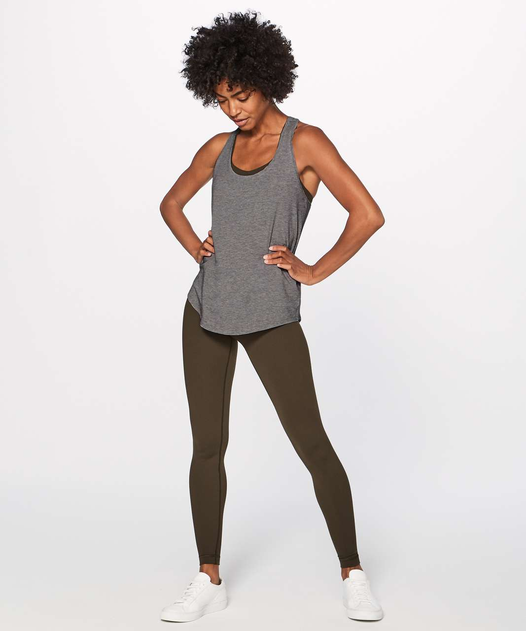 Lululemon Love Tank II - Heathered Medium Grey