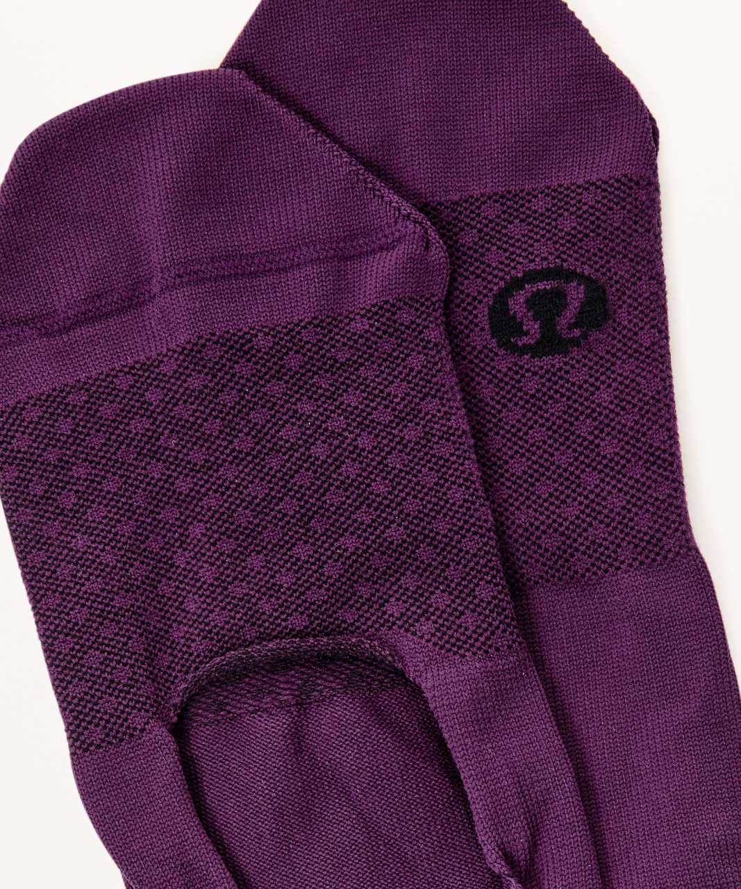 Lululemon Secret Sock - Ultra Plum / Black