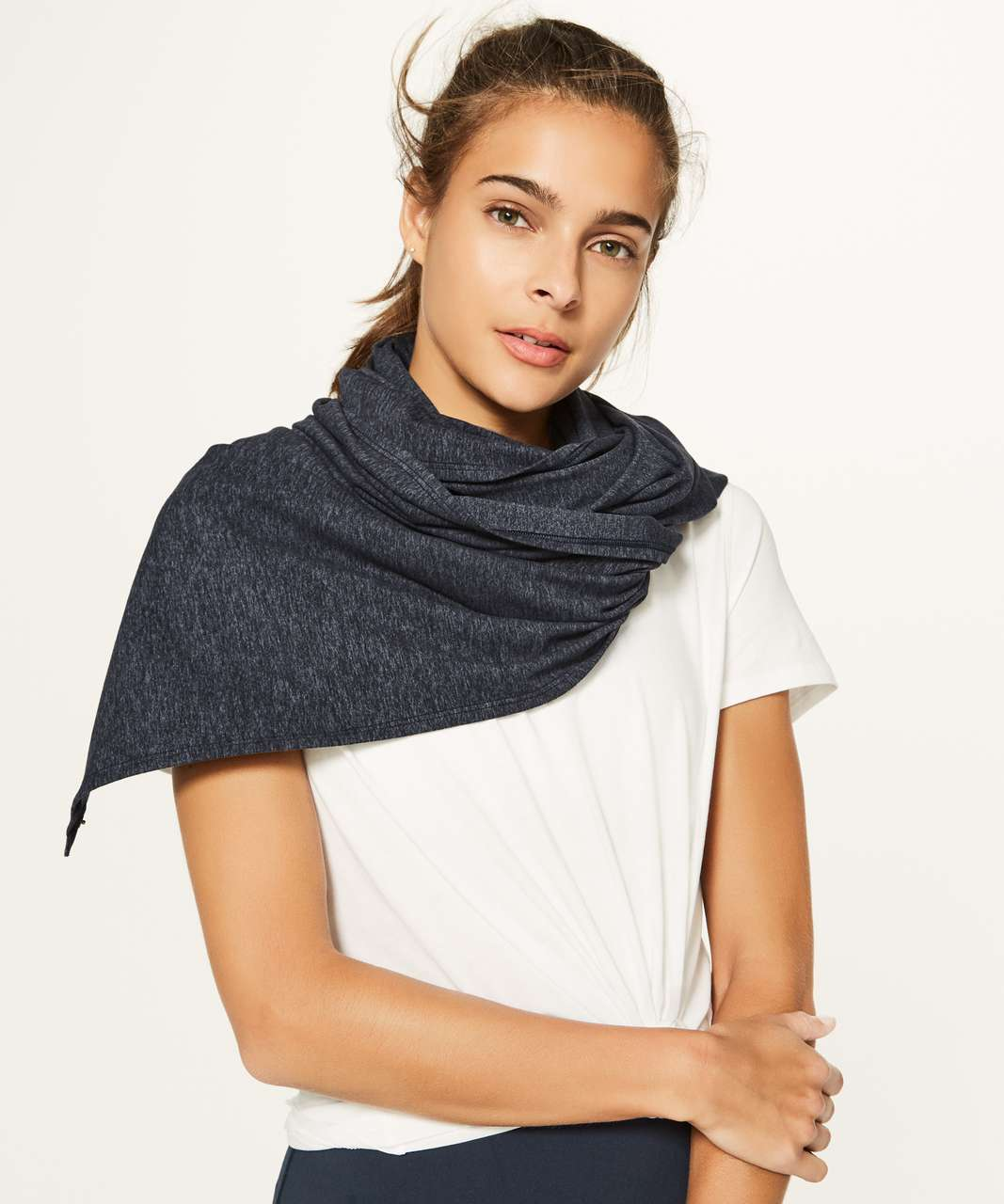 Lululemon Vinyasa Scarf (Rulu) - Heathered Dark Cast