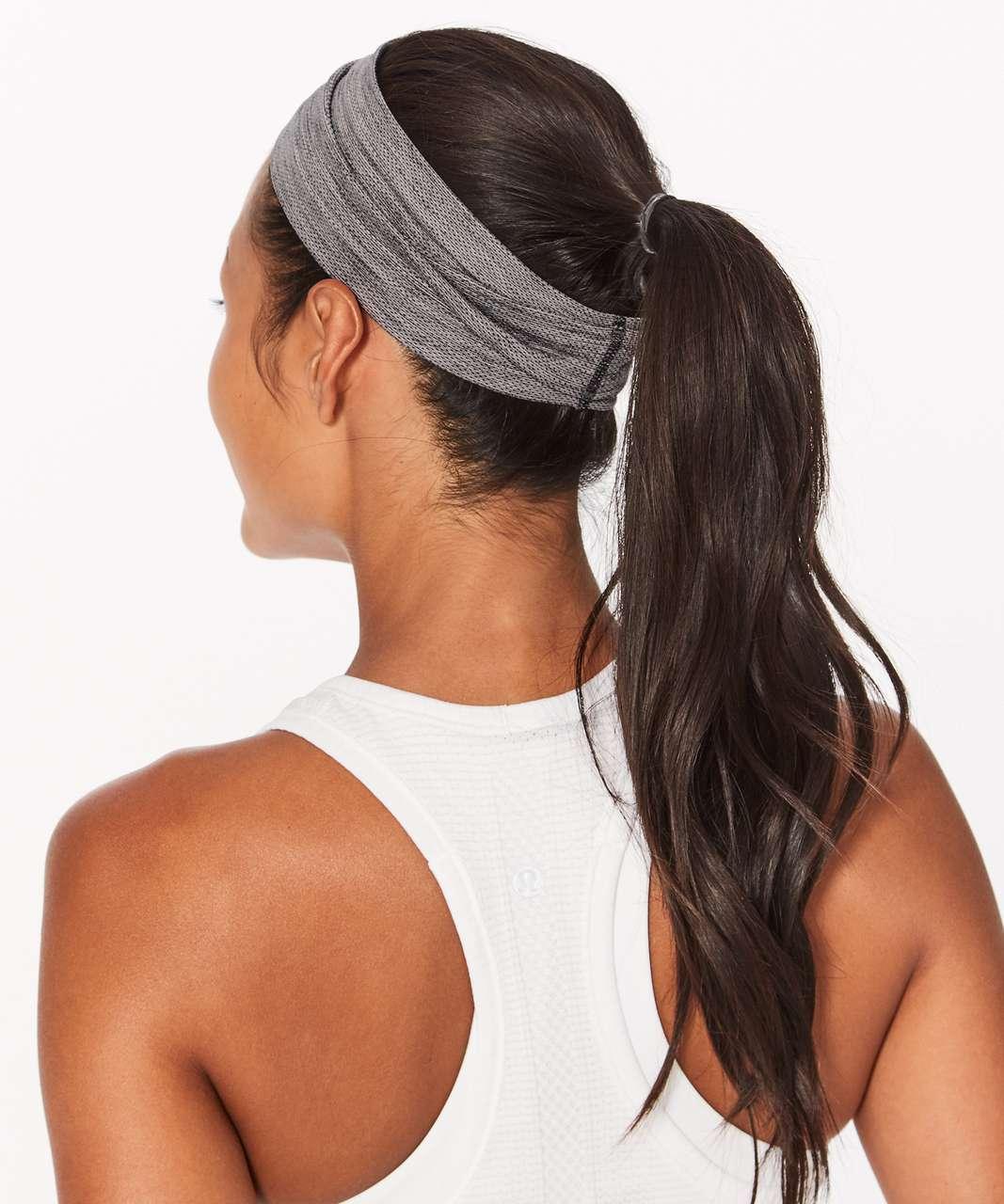Lululemon Swiftly Headband - Slate / White