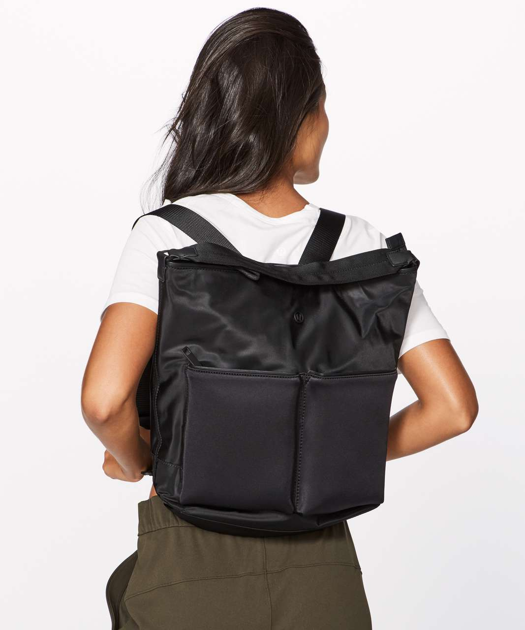 attractivedesigns newest style hot-selling Lululemon All Set Convertible Backpack (13L) - Black