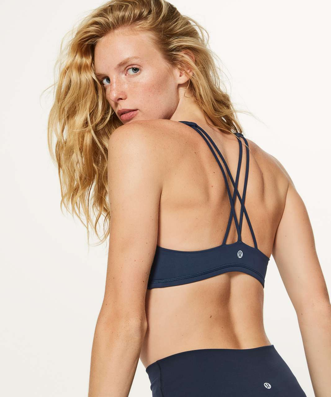 Lululemon Free To Be Bra - Nocturnal Teal