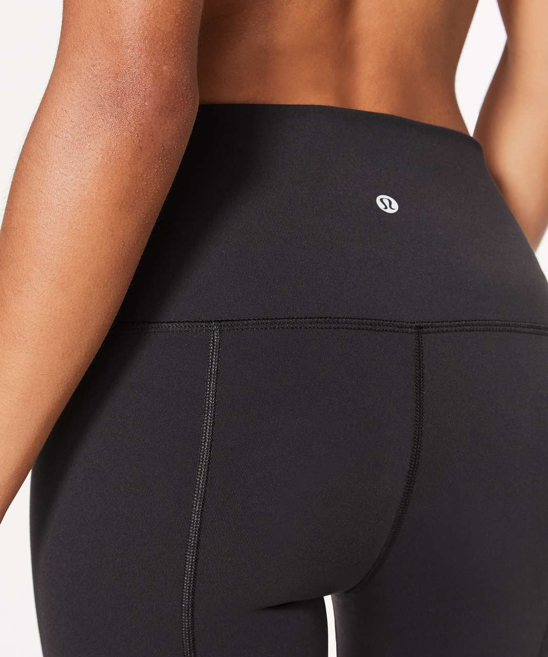 "Lululemon Wunder Under Crop II (Special Edition) *Scallop 23"" - Black (First Release)"