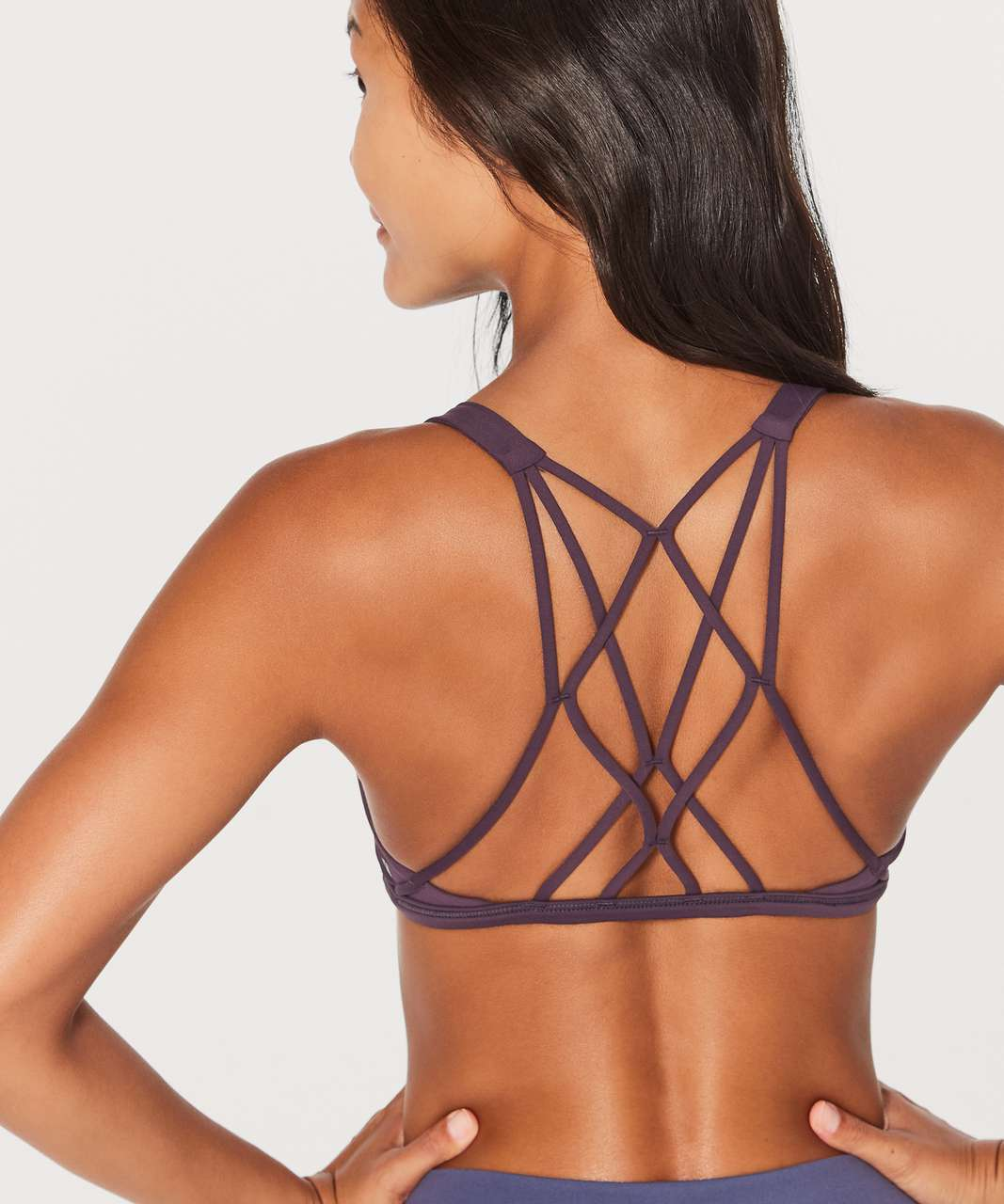 bec118a877 Lululemon Free To Be Zen Bra - Boysenberry - lulu fanatics