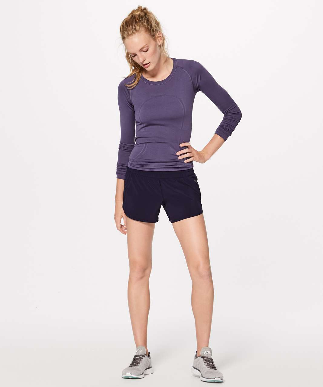 "Lululemon Tracker Short V (4"") - Aeon"