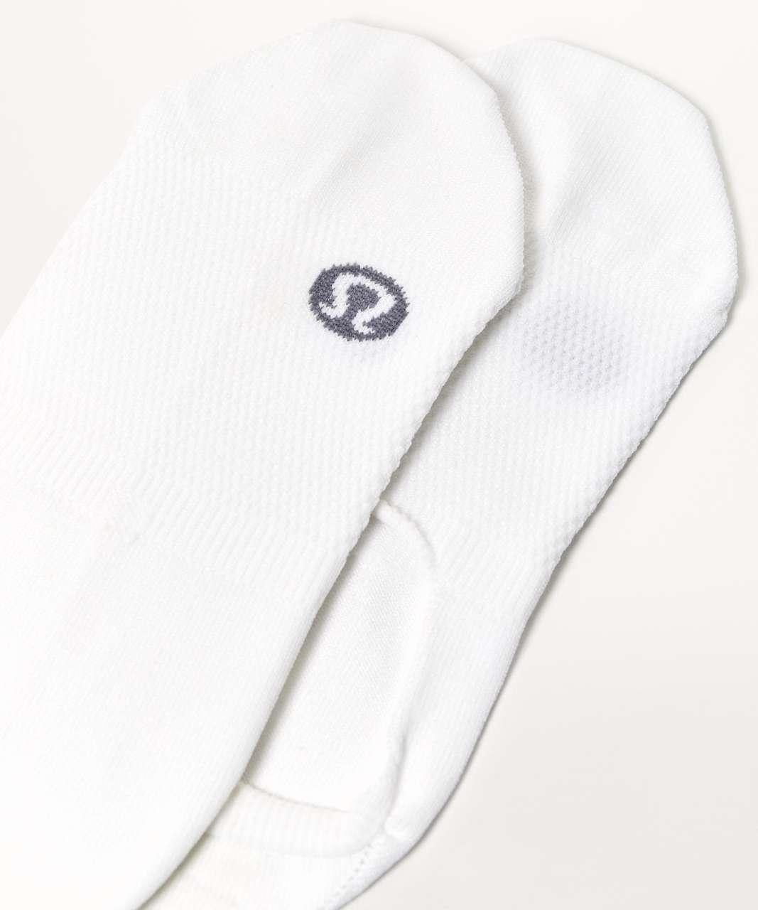 Lululemon Secret Sock - White