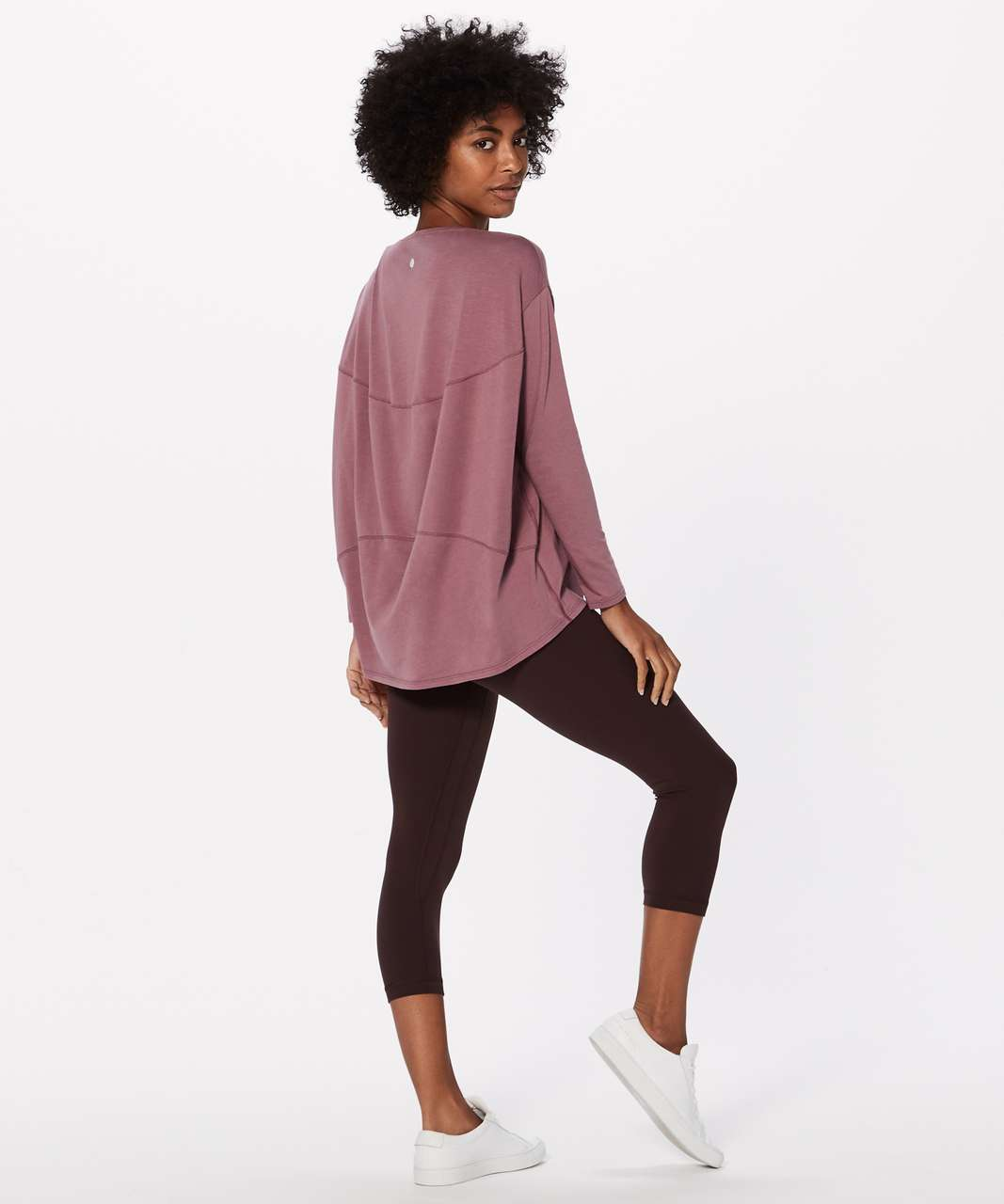 Lululemon Back In Action Long Sleeve - Figue