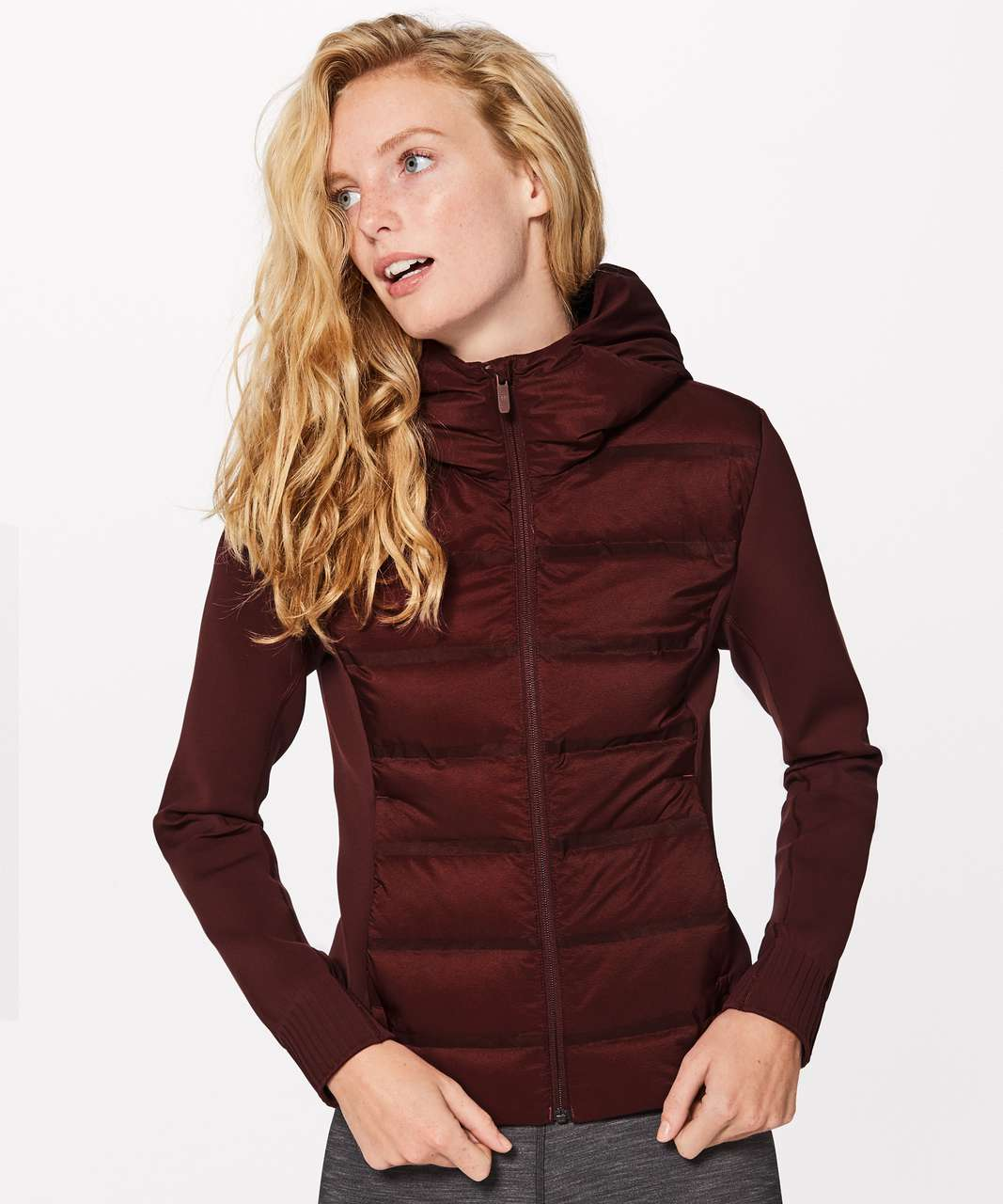 a0423678b Lululemon Down & Around Jacket - Dark Cedar