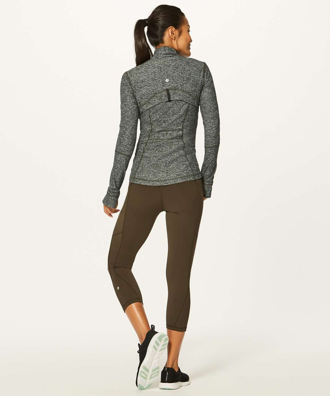 Lululemon Define Jacket (Rulu) - Heathered Gator Green