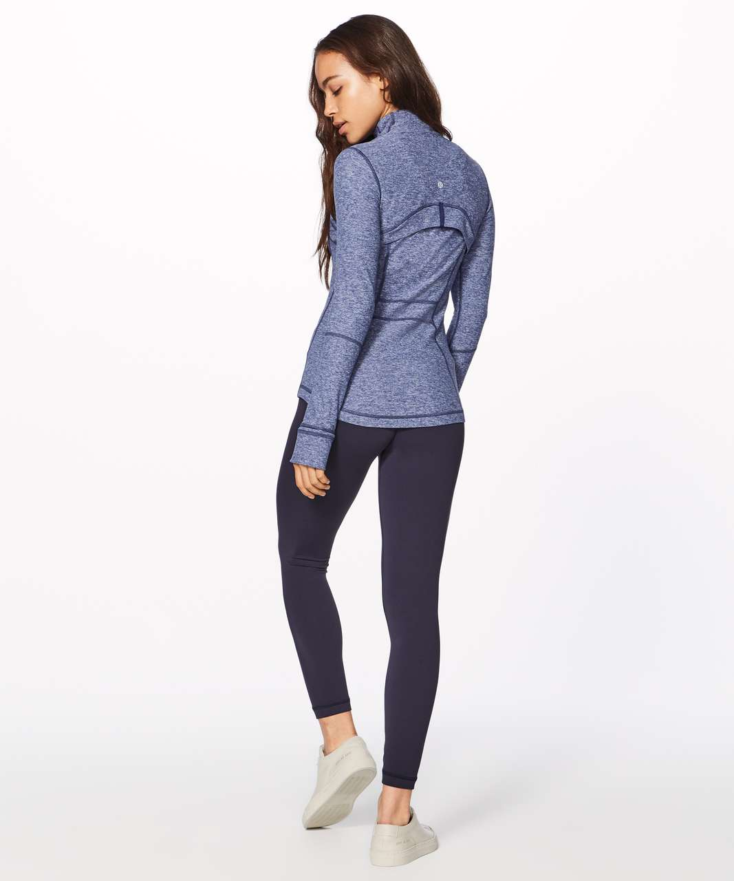 Lululemon Define Jacket (Rulu) - Heathered Hero Blue