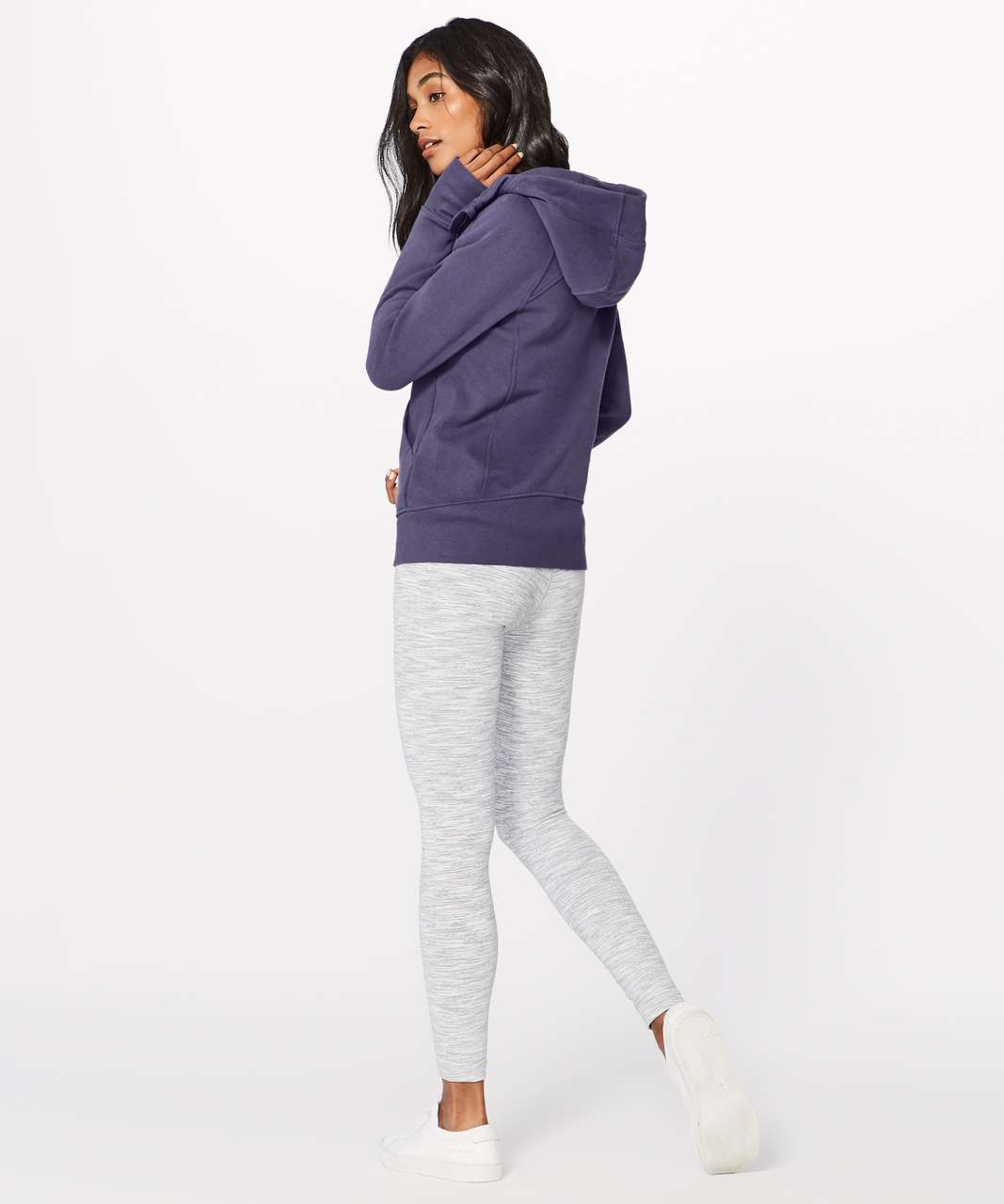 Lululemon Scuba Hoodie *Light Cotton Fleece - Viola