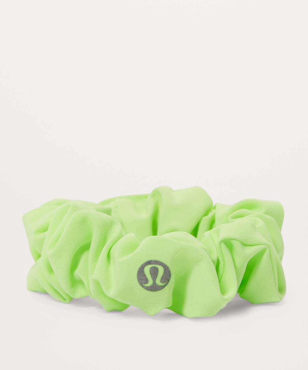 Lululemon Uplifting Scrunchie - Clear Mint
