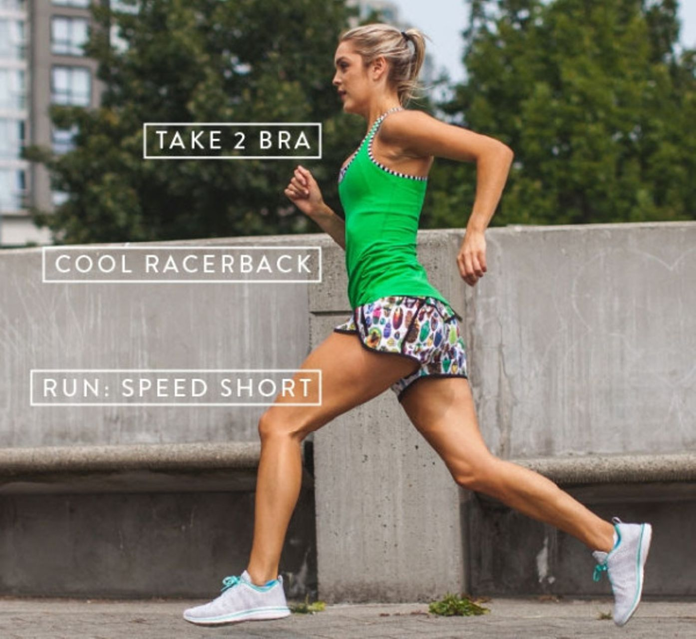 Lululemon Speed Short - 2015 Seawheeze - Bugs