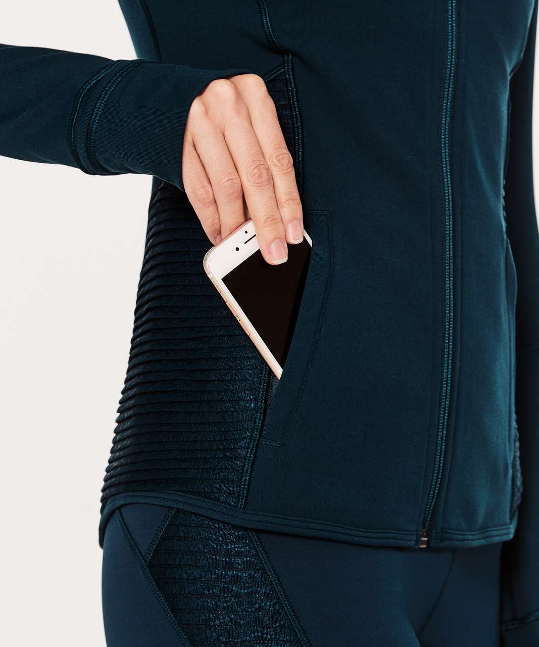 Lululemon Define Jacket (Pleat It) - Jaded