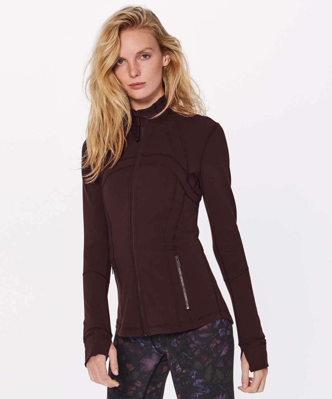 Lululemon Define Jacket - Garnet