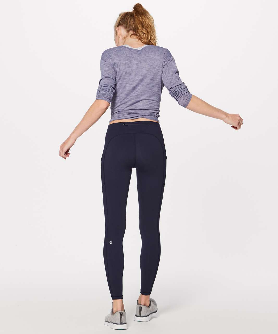 "Lululemon Speed Up Tight *Full-On Luxtreme Brushed 28"" - Midnight Navy"