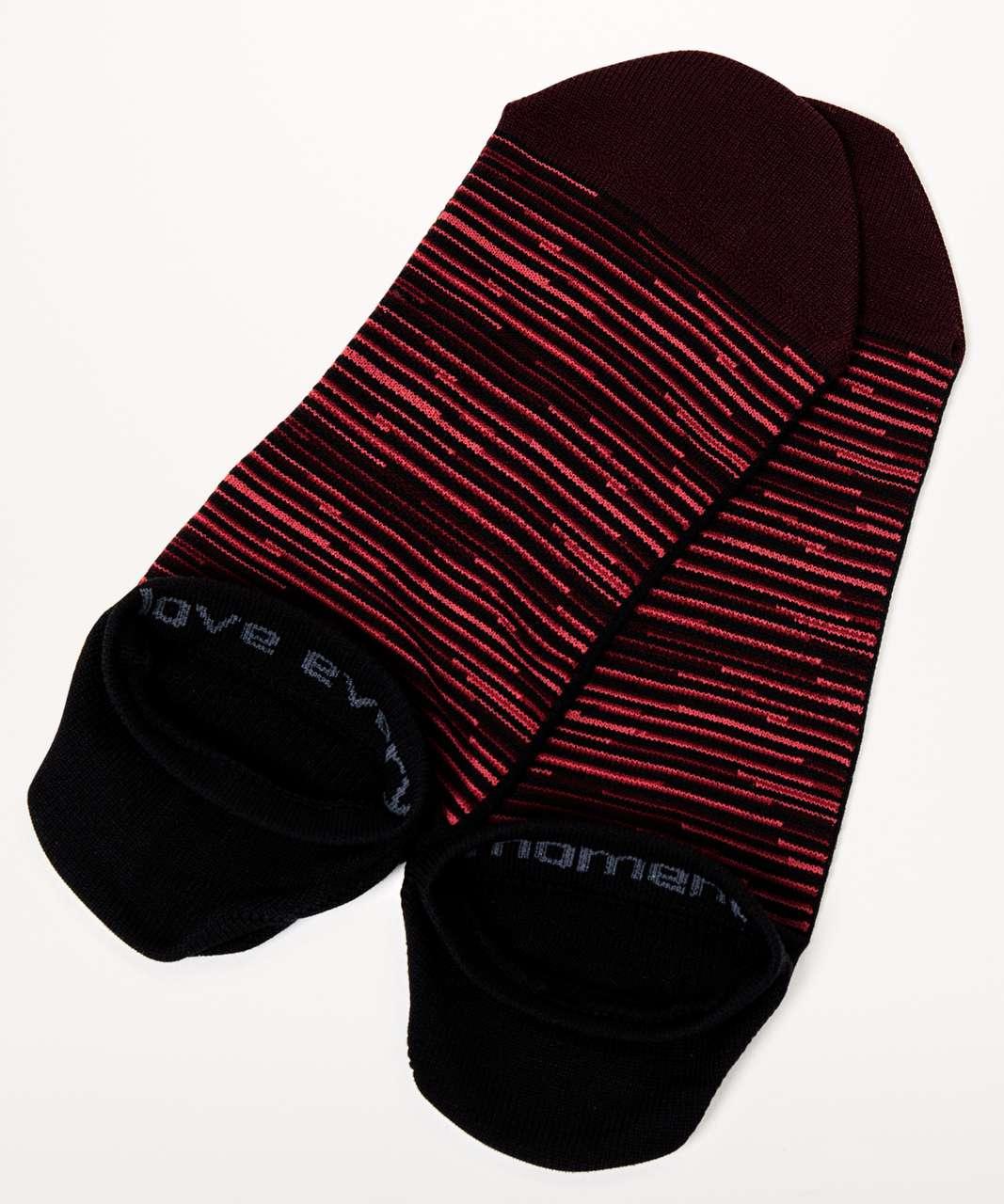 Lululemon Play All Day Sock - Garnet / Black