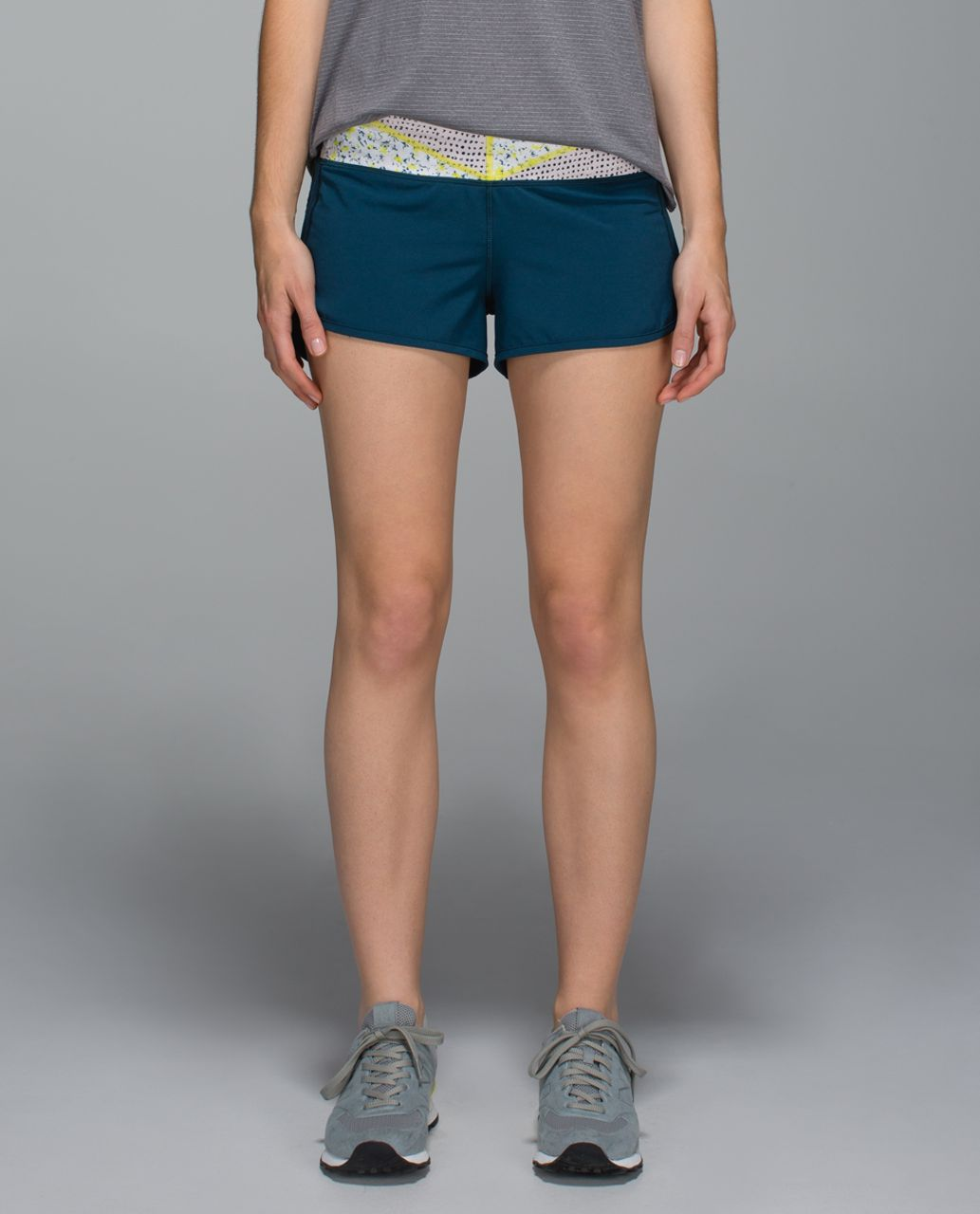 Lululemon Run:  Speed Short *4-way Stretch - Alberta Lake / Wi14 Quilt 26