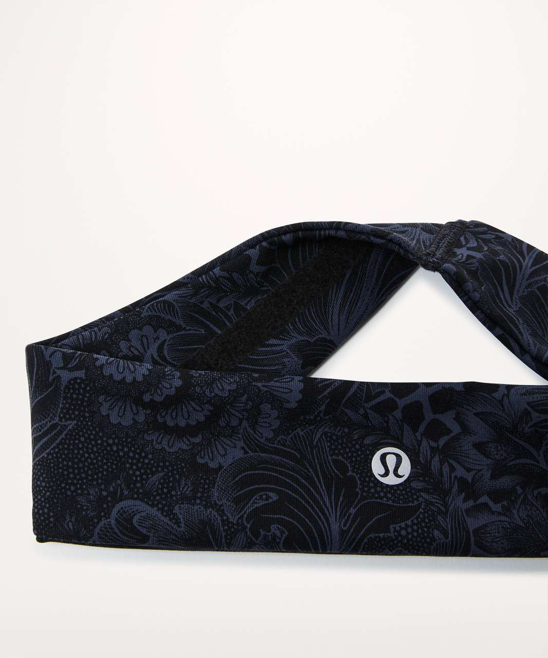 Lululemon Fly Away Tamer Headband II *Luxtreme - Nouveau Mach Blue Black