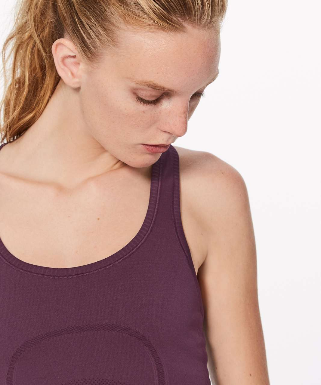 Lululemon Swiftly Tech Racerback - Dark Adobe / Dark Adobe