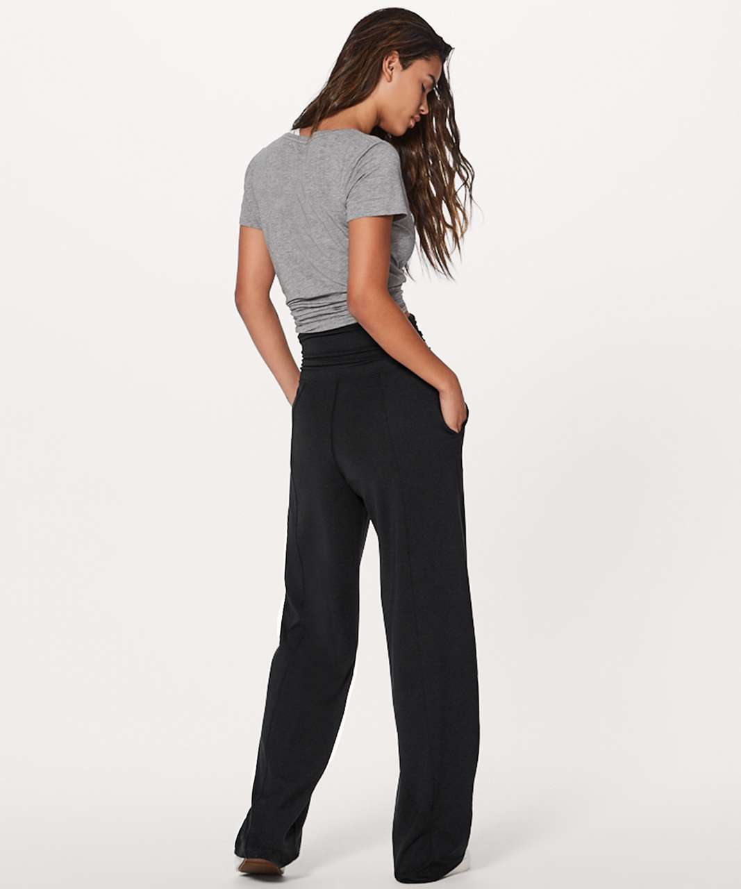 lululemon take it easy pant 31 black lulu fanatics
