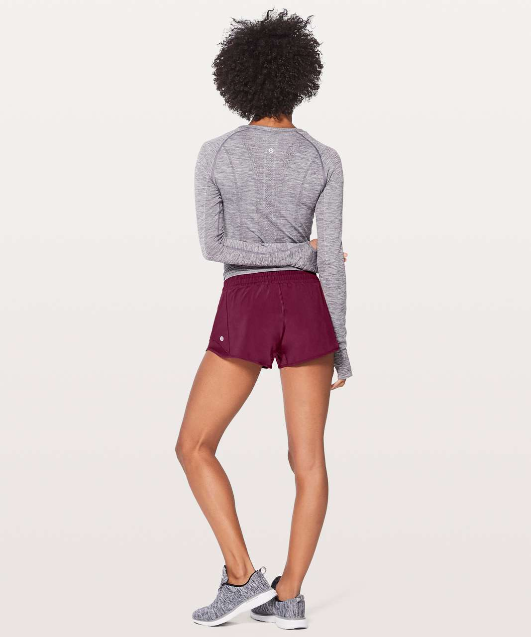 "Lululemon Hotty Hot Short II *2.5"" - Deep Luxe"
