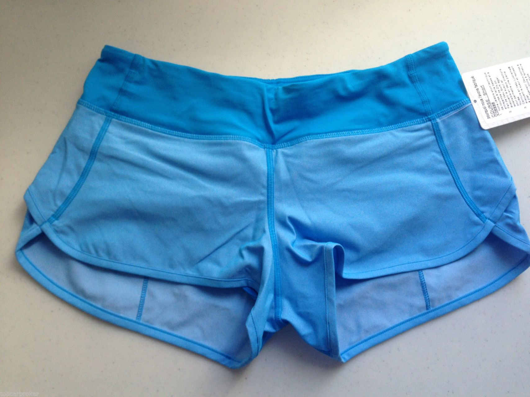Lululemon Run:  Speed Short - Beach Blanket Blue