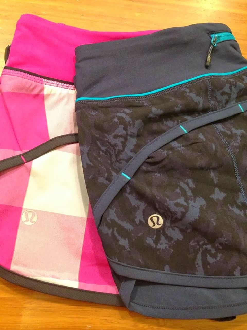 Lululemon Run:  Speed Short - Beautiful Baroque Inkwell / Inkwell / Surge