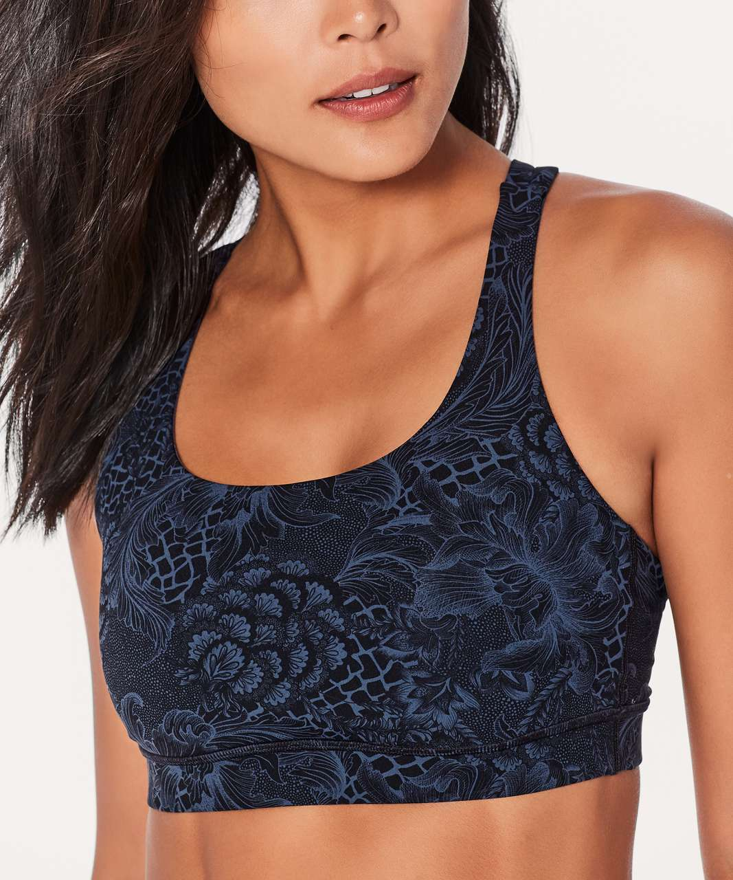 Lululemon Energy Bra - Nouveau Mach Blue Black