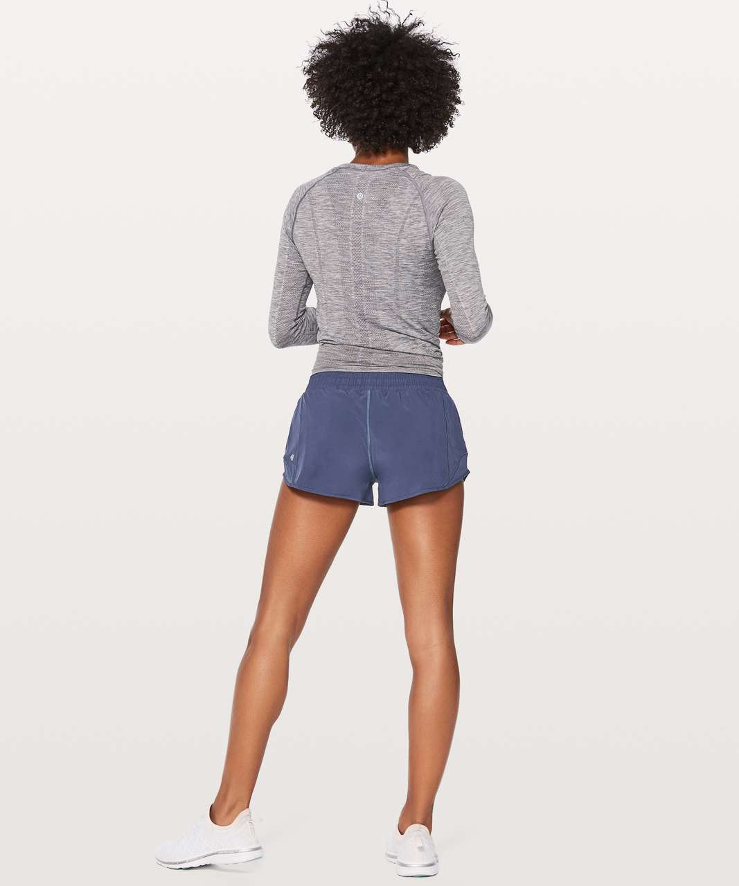 "Lululemon Hotty Hot Short II *2.5"" - Moody Blues"