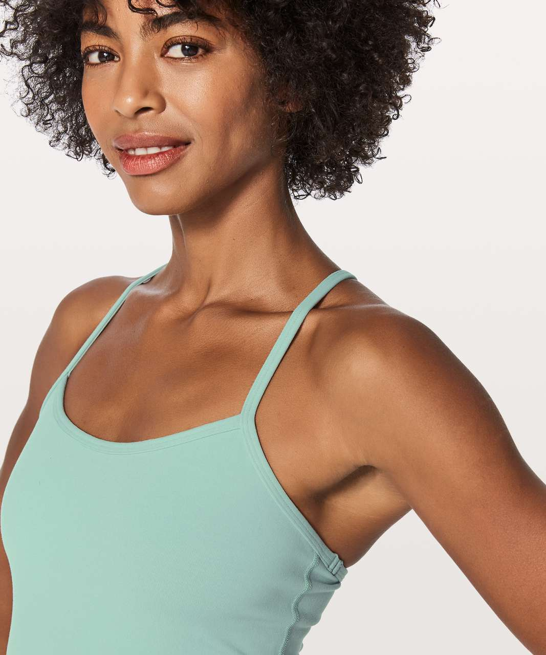 Lululemon Power Y Tank *Luon - Sea Water